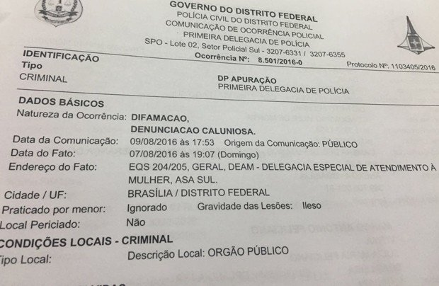 Partido registra B.O. contra jovem que acusa Feliciano de assédio