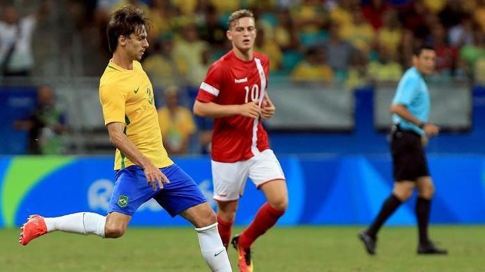 Brasil venceu Dinamarca (Crédito: Reuters)