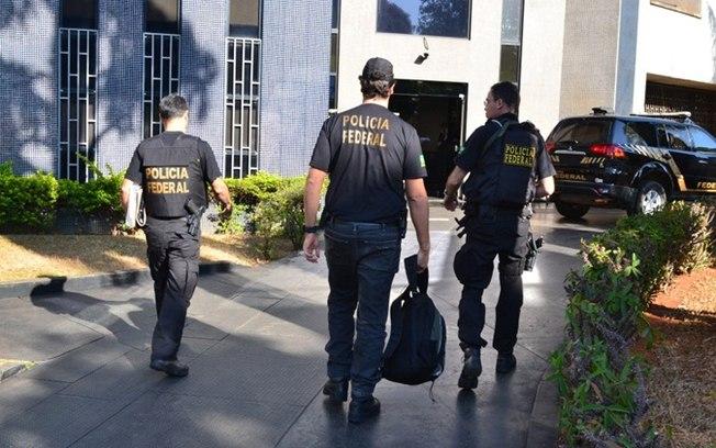 Operação da Polícia Federal no combate à pornografia infantil (Crédito: PF)