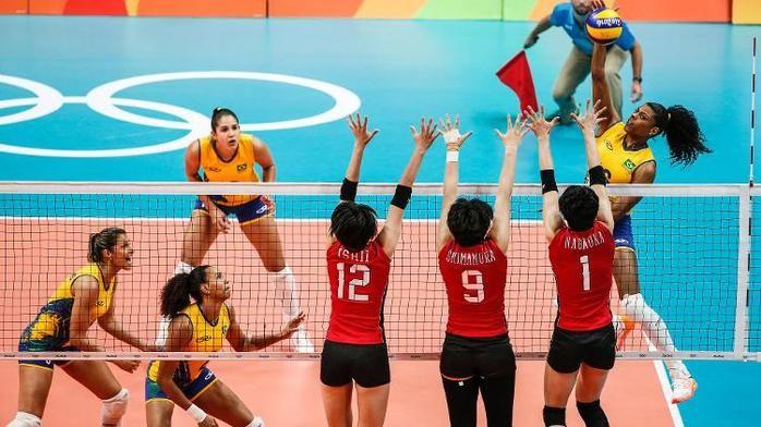 Brasil e Japão (Crédito: Reproducão)