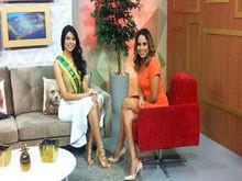Supertop recebe a Miss Piauí 2015 Ana Letícia Alencar