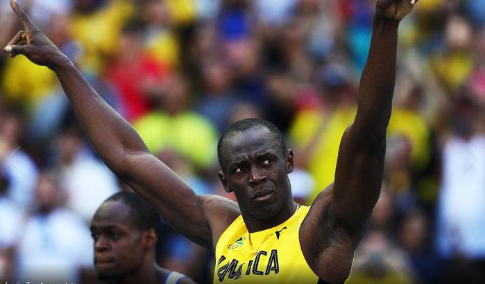 Bolt não forçou sua prova e fez o quarto tempo na eliminatória (Crédito: Getty)