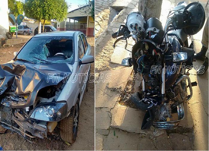 Veículos envolvidos no acidente na PI-459 (Crédito: FNnoticias)