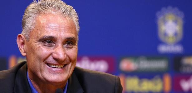 Tite vai fazer sua estreia na Seleção Brasileira (Crédito: Uol)