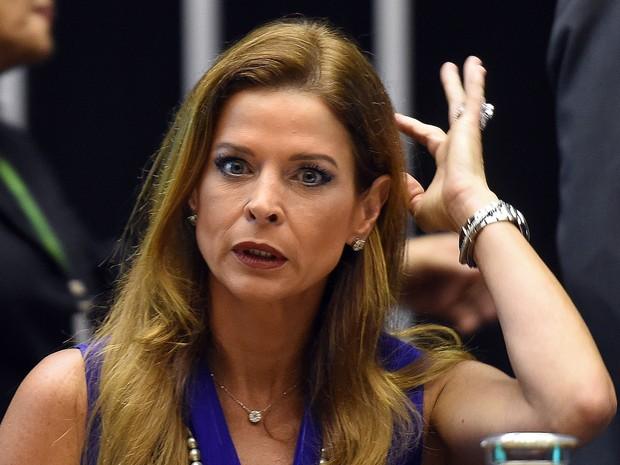 Cláudia Cruz (Crédito: Evaristo Sá/AFP/Arquivo)
