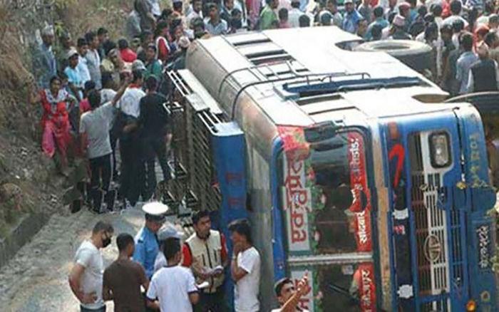 Cerca de 33 pessoas morreram no acidente