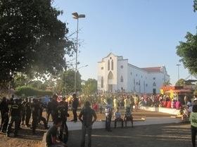 Missa abre 6ª Cavalgada de Água Branca