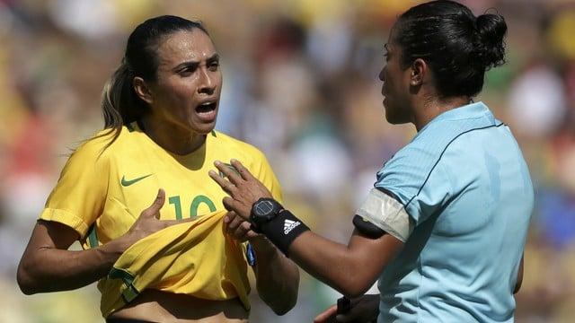 Brasil perde para a Suécia nos pênaltis e disputará o bronze (Crédito: Reprodução)