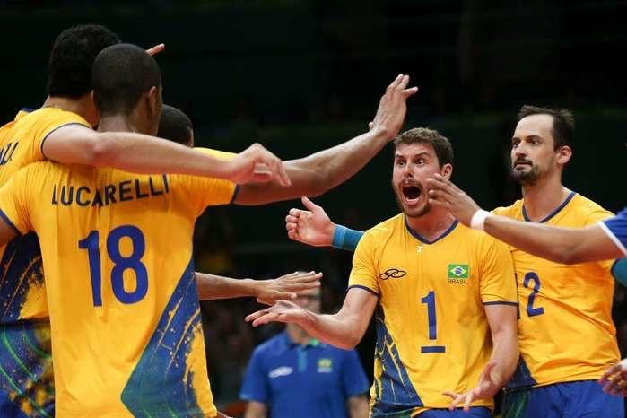 Brasil teve tranquilidade para reagir e empatar o jogo  (Crédito: Luciano Belford/FramePhoto / Gazeta Press)