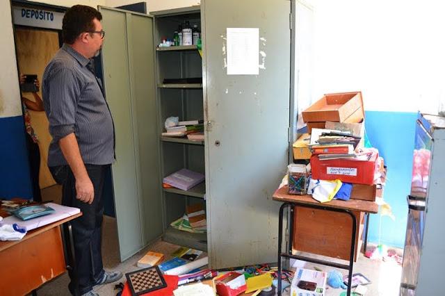 Escola Municipal Irmã Dedi Assunção (Crédito: Blog do Pessoa)