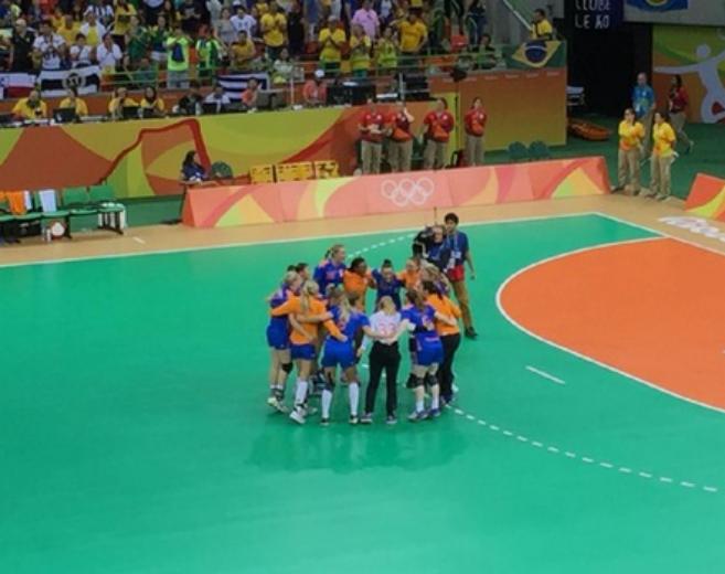Brasil perde para Holada e está fora das Olimpíadas
