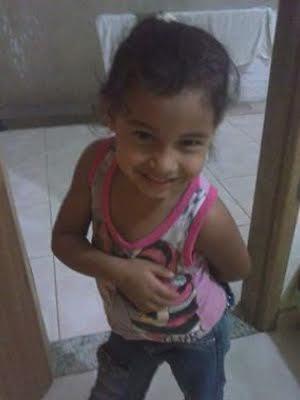 Luana de apenas 5 anos foi morta enquanto dormia