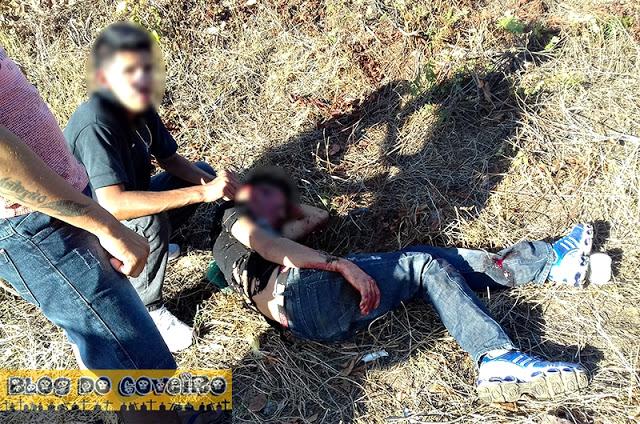 Acidente deixa dois jovens gravemente feridos na CE 232 (Crédito: Reprodução)