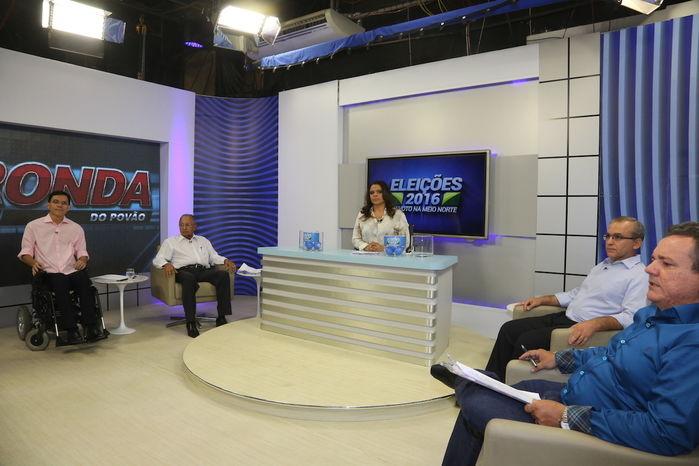 Rede Meio Norte de Comunicação realizou o 1º debate entre candidatos à Prefeitura de Teresina (Crédito: Efrem Ribeiro)