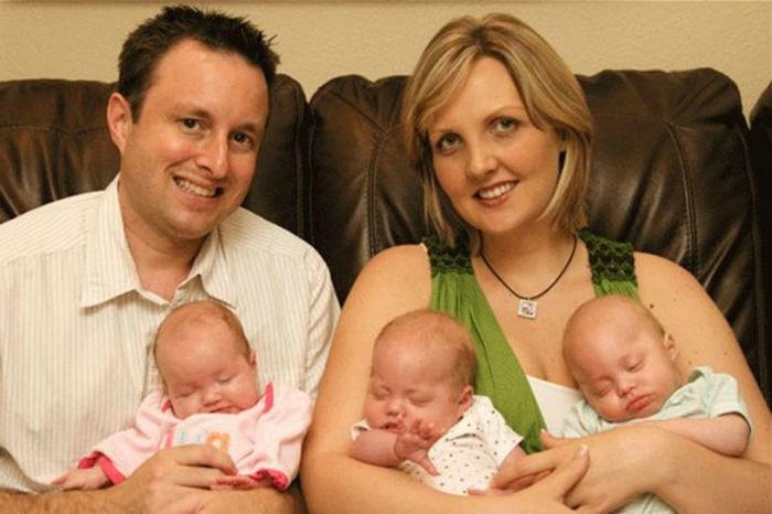 Após perder filhos em acidente, mulher engravidou de trigêmeos