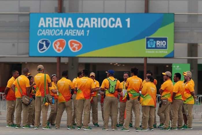 Apenas 35 mil dos 50 mil voluntários continuam na Rio 2016 (Crédito: Getty)