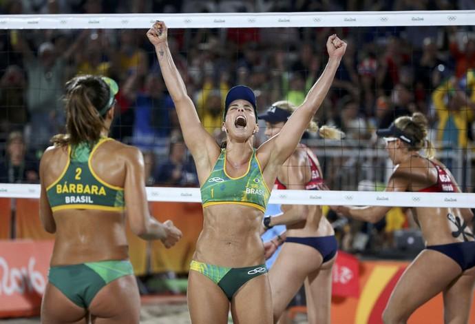 Vitória das brasileiras (Crédito: Reprodução)