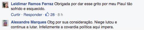 Post Camila Pitanga (Crédito: Reprodução)