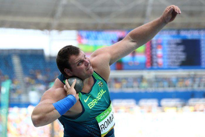 Darlan Romani se classificou em 3° (Crédito: Rio-2016)
