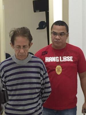 Pedófilo preso (Crédito: Reprodução)