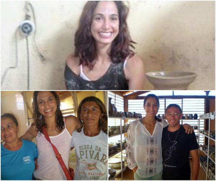 Camila Pitanga em São Raimundo no ano de 2013 (Crédito: Reprodução)