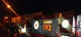 Colisão frontal de motos deixa dois feridos no centro de União