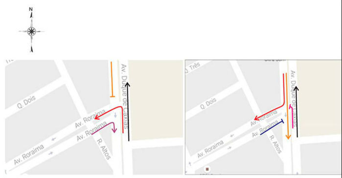 Cruzamento de avenidas na zona norte contará com semáforo