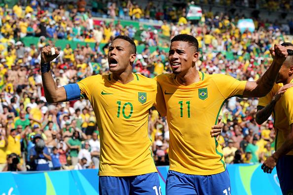 Neymar e Gabriel de Jesus (Crédito: Divulgação)