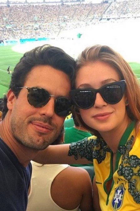 Marina Ruy Barbosa e o namorado (Crédito: Reprodução )