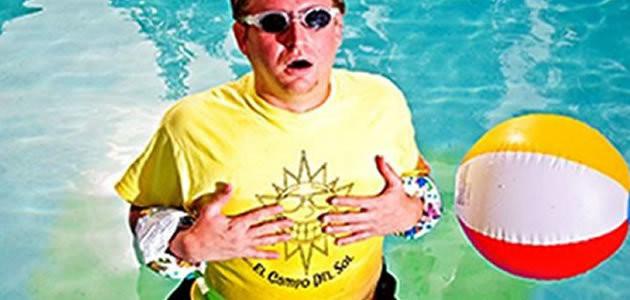O que acontece se você fizer xixi na piscina?