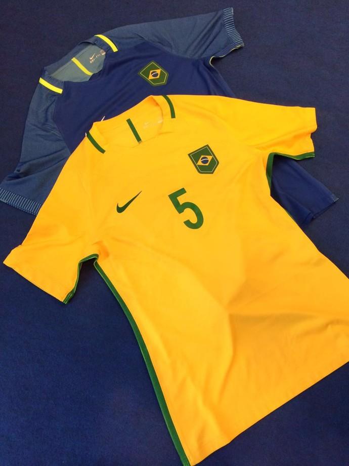 A amarelinha pronta para os Jogos Olímpicos do Rio de Janeiro  (Crédito: Globoesporte.com)