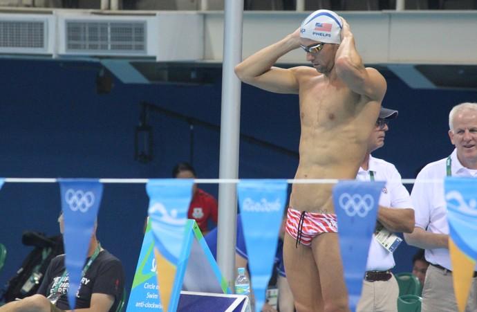 Michael Phelps (Crédito: Fabrício Marques)
