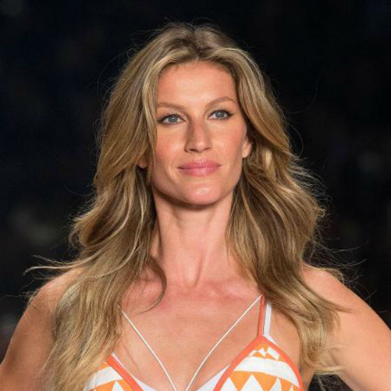 Gisele Bündchen, modelo brasileira, estará na abertura dos Jogos Olímpicos de 2016 (Crédito: AP Photo)