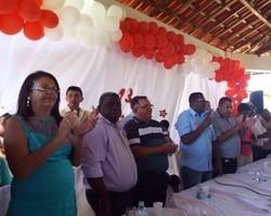 partidos PT,PSB,PCdoB,DEMOCRATAS realizam convenção em cajazeiras