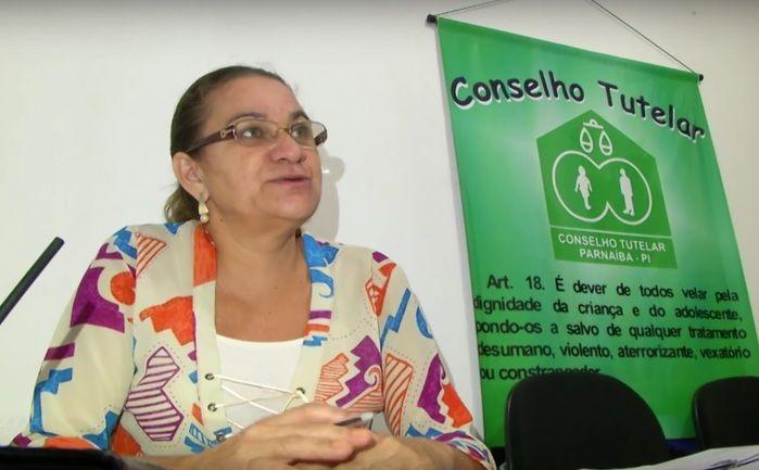 Rosa Oliveira, conselheira tutelar de Parnaíba. (Crédito: João Júnior / Rede Meio Norte)