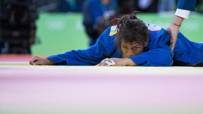 Sarah Menezes era uma das apostas para medalha (Crédito: Reprodução)