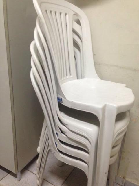 PM prende suspeito de furtar cadeiras da prefeitura de Parnaíba (Crédito: Reprodução)