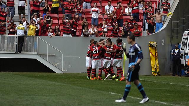 Flamengo e Grêmio (Crédito: Reprodução)