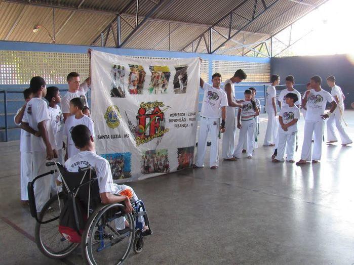 Capoeira no Ceir