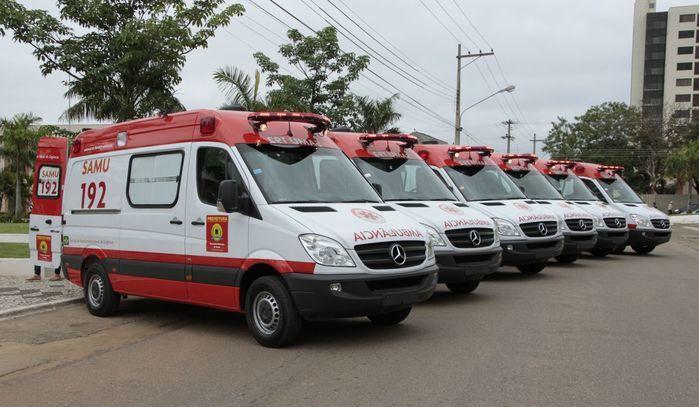 Ambulâncias do SAMU