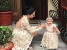 Bella Falconi celebra o aniversário de um ano da filha