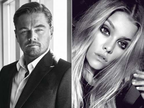 Leonardo DiCaprio e sua nova namorada (Crédito: Divulgação)