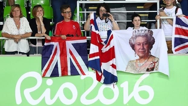 A rainha parabenizou o desempenho dos britânicos na Rio 2016 (Crédito: Getty)