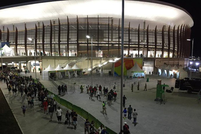 Arena Carioca 1: centro de treinamento ou casa de shows, dependendo do interesse