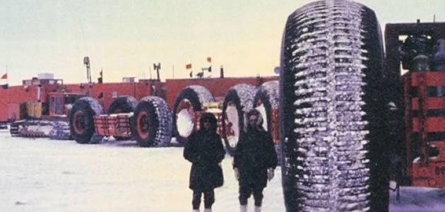 Cidade toxica enterrada no gelo pode voltar a terra