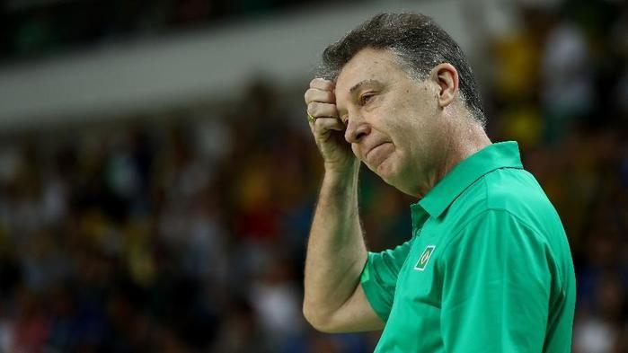 Rubén Magnano foi eliminado com a seleção masculina na primeira fase da Rio-2016 (Crédito: Getty)