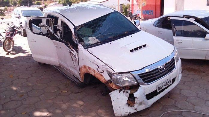 Veículo usado pela dupla (Crédito: Divulgação)
