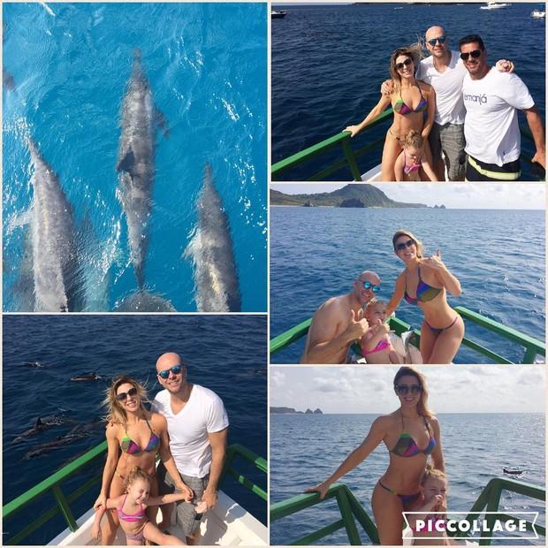 Sheila Mello curte férias em família (Crédito: Reprodução/ Instagram)