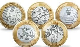 Moedas comemorativas dos Jogos Olímpicos podem valer muito dinheiro