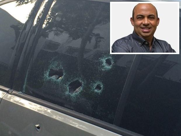 Candidaro a vereador foi morto a tiros  (Crédito: Divulgação)